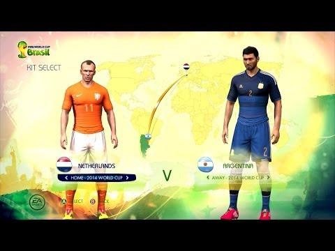 Netherlands v Argentina: World Cup simulator
