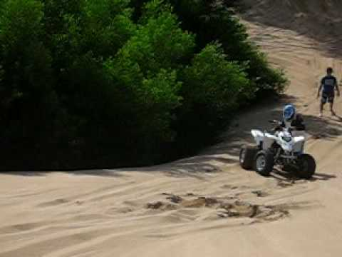 cuatri campero yamaha blaster 200 vs raptor 250 atv quad