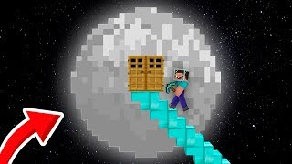 NOOB vs PRO Minecraft: WHY NOOB DECIDED TO FLY TO MOON? HOW TO COLONIZE THE MOON? 99% trolling