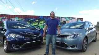 2017 Chrysler Pacifica vs. 2017 Chrysler Pacifica Hybrid MPG comparison