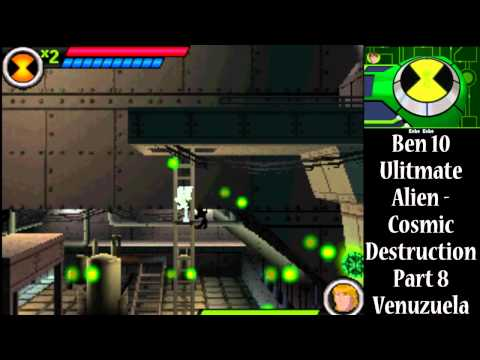 Ben 10 Ultimate Alien Cosmic Destruction DS Walkthrough/Let's Play Part 8