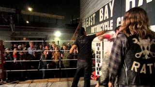 Asian Dude KO's Jesus - East Bay Rats - Punks vs Hipsters 2
