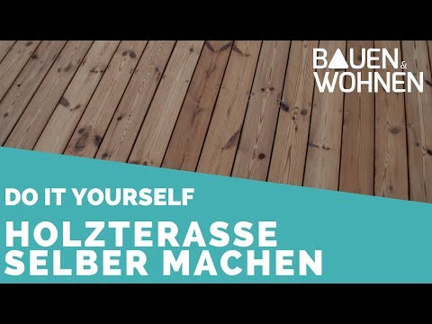 Tipp: Holzterrasse selber bauen | BAUEN & WOHNEN