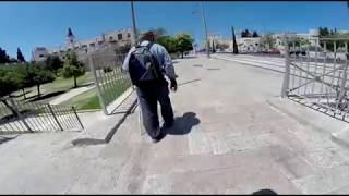 2018 third walk around jerusalem wall   18 full part 4 movie