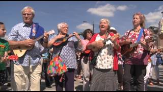 Tall Ships Gloucester Ukulele - Flash Mob