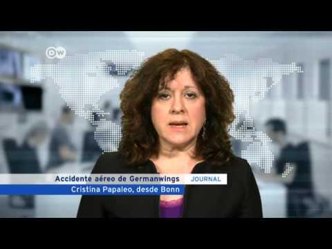 Cristina Papaleo detalles conferencia prensa Germanwings