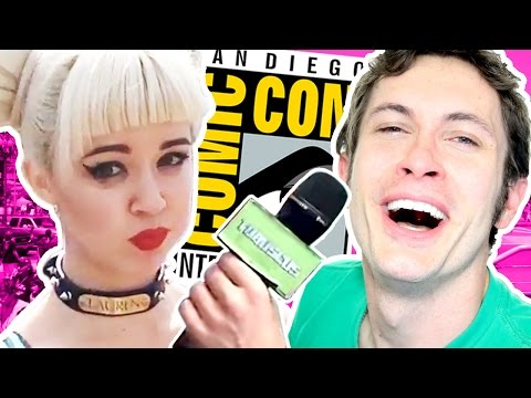 HOT COMIC CON SELFIE PARTY  is listed (or ranked) 16 on the list The Best Tobuscus Videos on YouTube