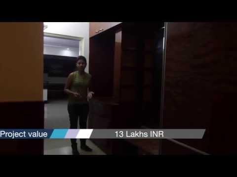 Mr. Vinod's 3BHK Salarpuria Greenage interiors Bangalore apartment interiors