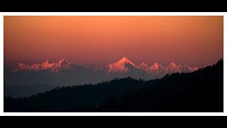 Himalaya | panchachuli peaks timelapse | bageecha home stay sasbani mukteshwar