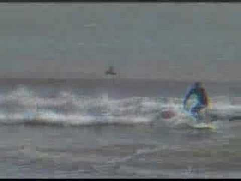 Cold Front Surf in Surfside Texas. Music by Camel