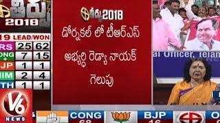 Geetha Reddy Press Meet, Slams EC Over TRS Triumph In Assembly Polls