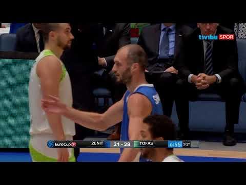 Zenit Saint Petersburg 84-82 Tofaş | EuroCup 5. Hafta Maç Özeti