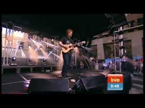Ed Sheeran - On Australian Breakfast TV