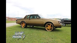 WhipAddict: Custom Painted Buick Regal T-Type on Brushed Gold Rucci Forged Breitling 24s