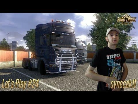 Euro Truck Simulator 2 ► Let's Play Česky #24 ► Erfurt → Rotterdam ► synecek11