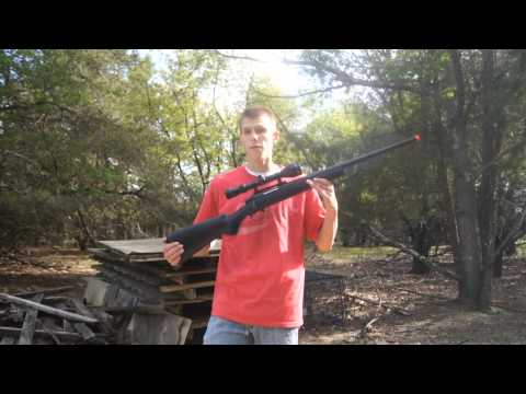 HFC CO2 Airsoft Sniper Rifle Chrono/Shooting Test
