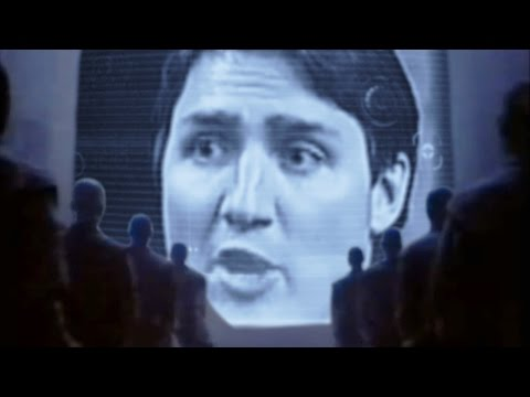"RARE version of Apple's famous ""1984"" ad -- starring Justin Trudeau!"