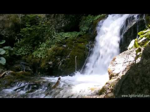 Waterfall Forest River - 5 Hours Hd Video - 85 Relaxing Waterfalls video