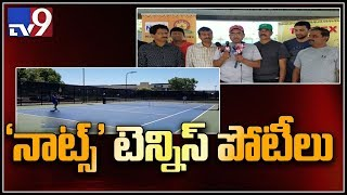 Telugu NRI tennis  players fight it out in  NATS singles and doubles