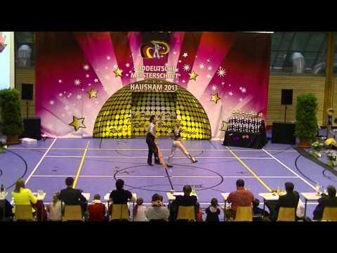 Gudrun Ziegeler & Andreas David - Süddeutsche Meisterschaft 2013