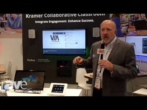 InfoComm 2016: Kramer Demos Kramer Collaborative Classroom