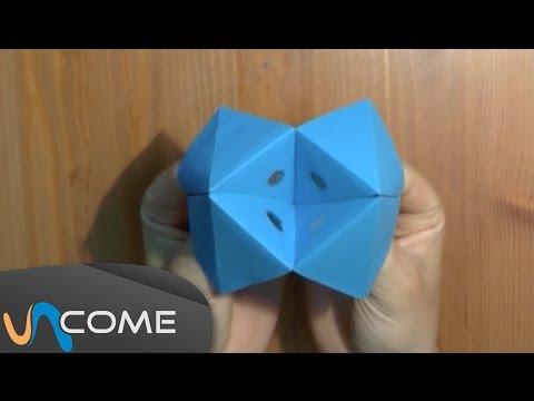 Come fare un origami inferno e paradiso