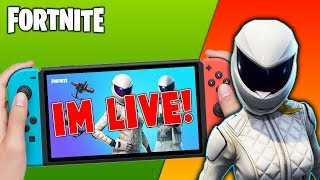 🔴 Pro Fortnite Nintendo Switch Player // Pro solo Matches // 1v1s With Subscribers + Tips!!