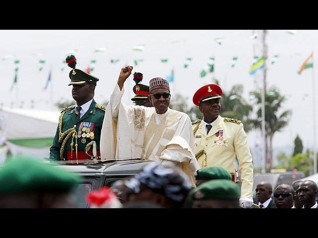 مراسم تحلیفِ رئیس جمهوری جدید نیجریه