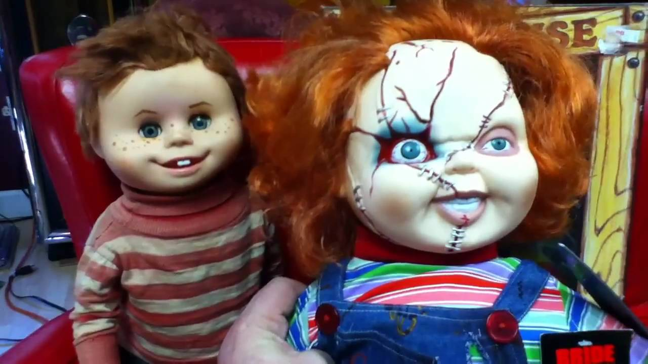 My Buddy Doll Inspired Chucky From The Child S Play Movies