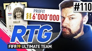 6,000,000 COINS PROFIT! - #FIFA19 Road to Glory! #110 Ultimate Team
