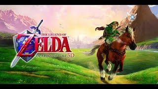 Zelda Ocarina of Time 4k - Castillo Hyrule - Cueva Dodongo