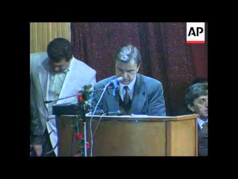 RUSSIA: CHECHNYA: RUSLAN KHASBULATOV POLITICAL COMEBACK