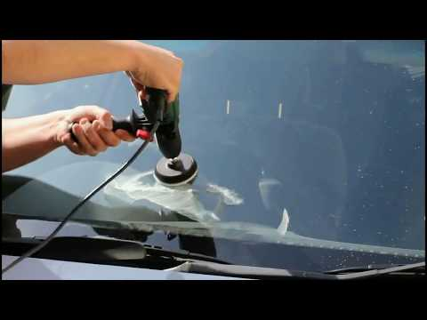 Windscreen Repair. Polishing kit - Wiper Blade damage and light scratches remover