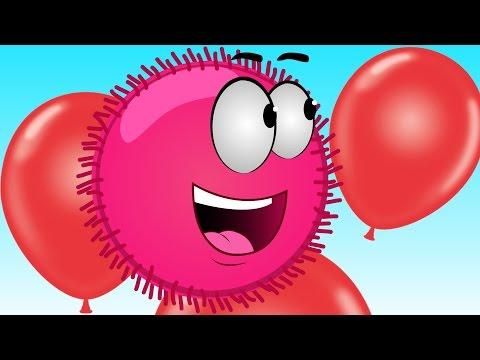 Красный ШАР Red Ball Опасные приключения Мультик игра для детей малышей frizzle fraz часть 3 - 1