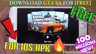 How To Download GTA San Andreas On IOS & Android For [FREE] With Easy Tutorial