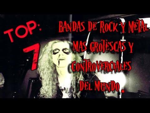 TOP: 7 Bandas del Rock y Metal mas controversiales y grotescas del mundo[LOQUENDO]