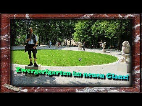 Zwergerl Garten vom Schloß Mirabell  im neuen Glanz - Krypto. TV