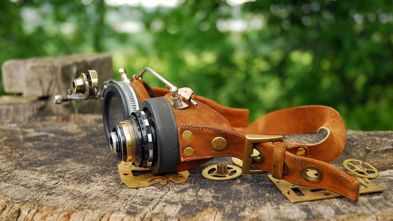 Steampunk очки своими руками 24