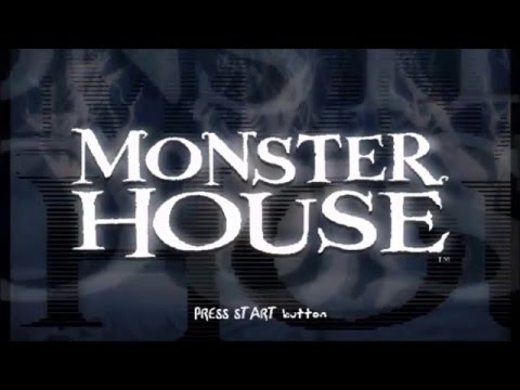 Monster House PS2 Walkthrough Part 1 No Commentary Intro/Inside the House