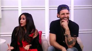 NICOLE 'SNOOKI' POLIZZI AND NICO TORTORELLA ARE TALKING THEIR MTV SHOW 'HOW FAR IT TATTOO FAR?'