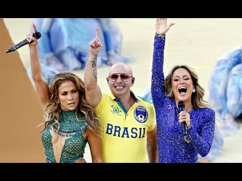 We Are One (Ole Ola) - Pitbull ft. Jennifer Lopez & Claudia Leitte - World Cup Ceremony 2014