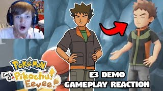 They Took Inspiration From The Pokemon Anime!   Pokemon Let's Go Pikachu & Eevee Gameplay Reaction