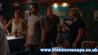Home and Away Crazy Bar Fight