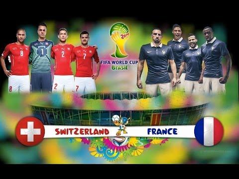 France vs Switzerland 5-2 All Goals & World Cup 2014 (HD)