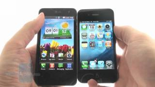 LG Optimus 2X vs Apple iPhone 4