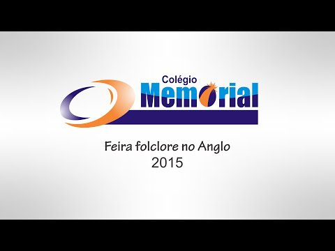 Feira cultural (Folclore) Memorial / Anglo - 2015