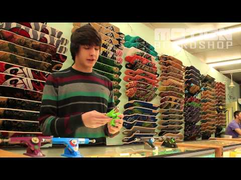 Cast Trucks with Jackson Wells - Motionboardshop.com