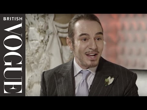 Vogue Festival Exclusive: John Galliano talks comebacks, Kate Moss and couture