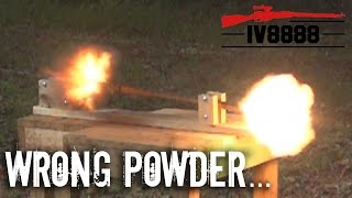Smokeless Powder in a Muzzleloader?