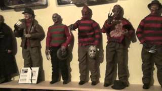freddy krueger sideshow 12 inch 1/6 figure figurine 30 cm collection
